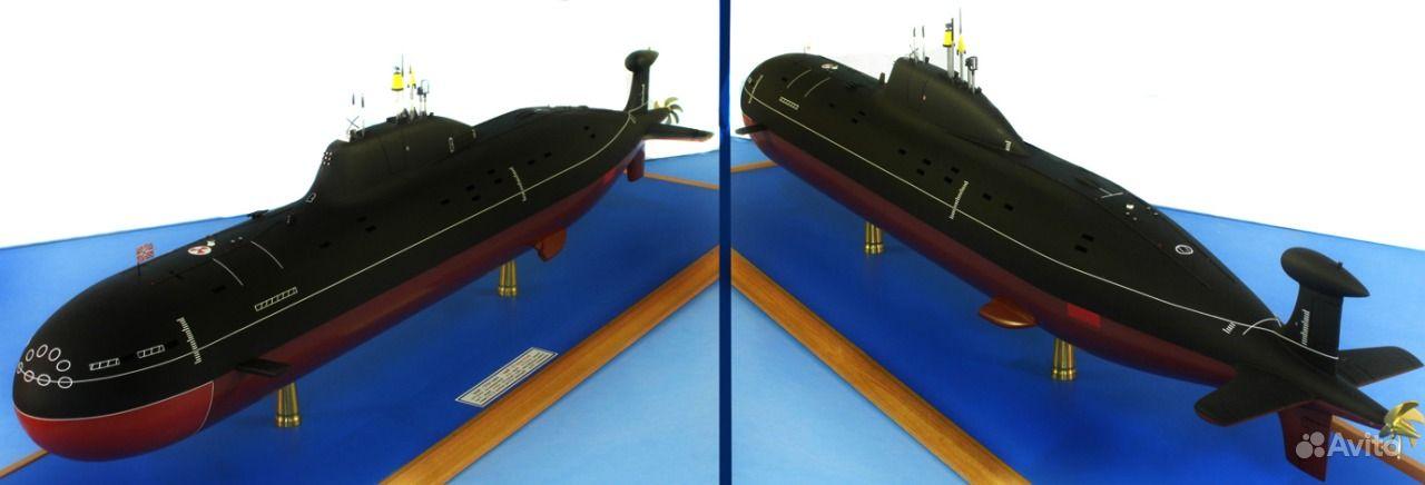 модель подводной лодки 1 200