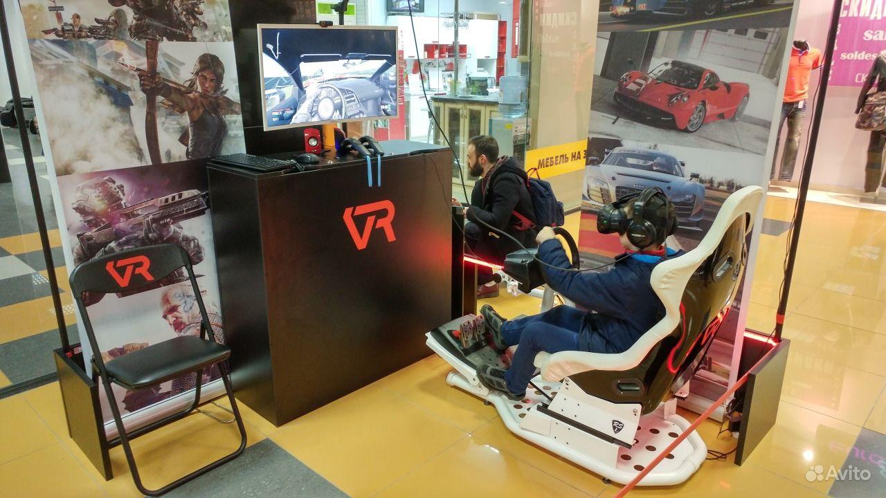 Виртуальная реальность автосимулятор HTC Vive.  Москва