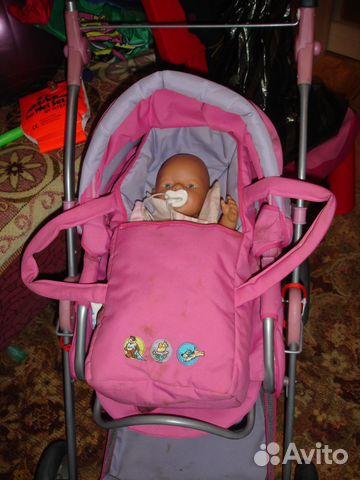 Коляска с сумочкой для куклы Gulliver коляски 320-5 купить в Москве, Санкт-Петербурге (Спб): цена, отзывы, фото