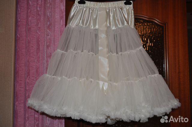 Нижняя юбка для платья