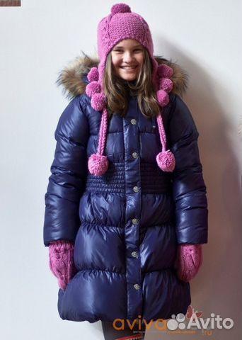 Пальто для девочки aviva
