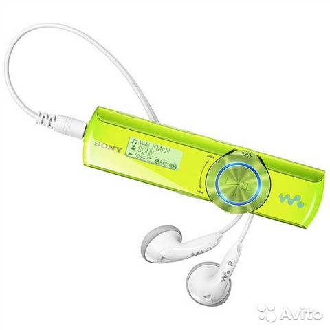 Купить Sony NWZ-B173F 4Gb Blue - цена MP3 - Связной