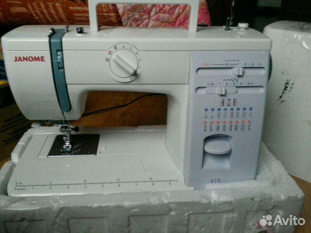инструкция по эксплуатации швейная машинка janome 415
