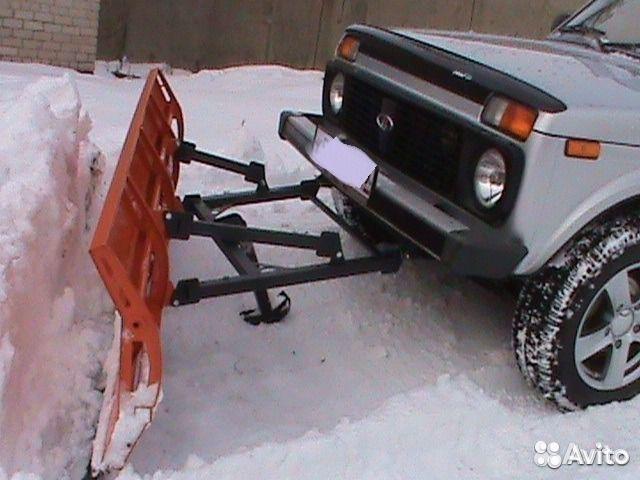 Как сделать отвал для снега на ниву своими