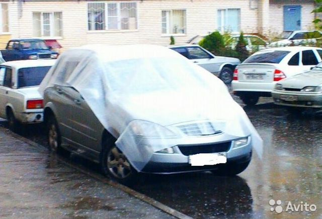 Антиградовая накидка для автомобиля