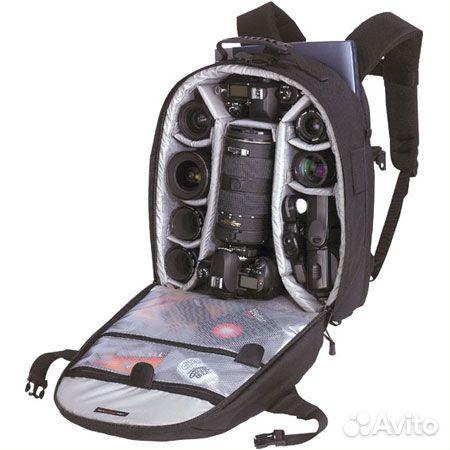 Основные характеристики Тип рюкзак для фото-, видеокамеры Материал текстиль Вес 1540 г Внешние габариты...