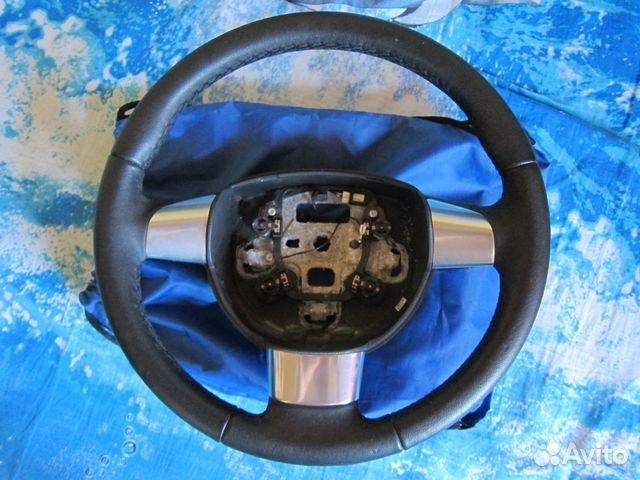 Кожаный руль фокус 2