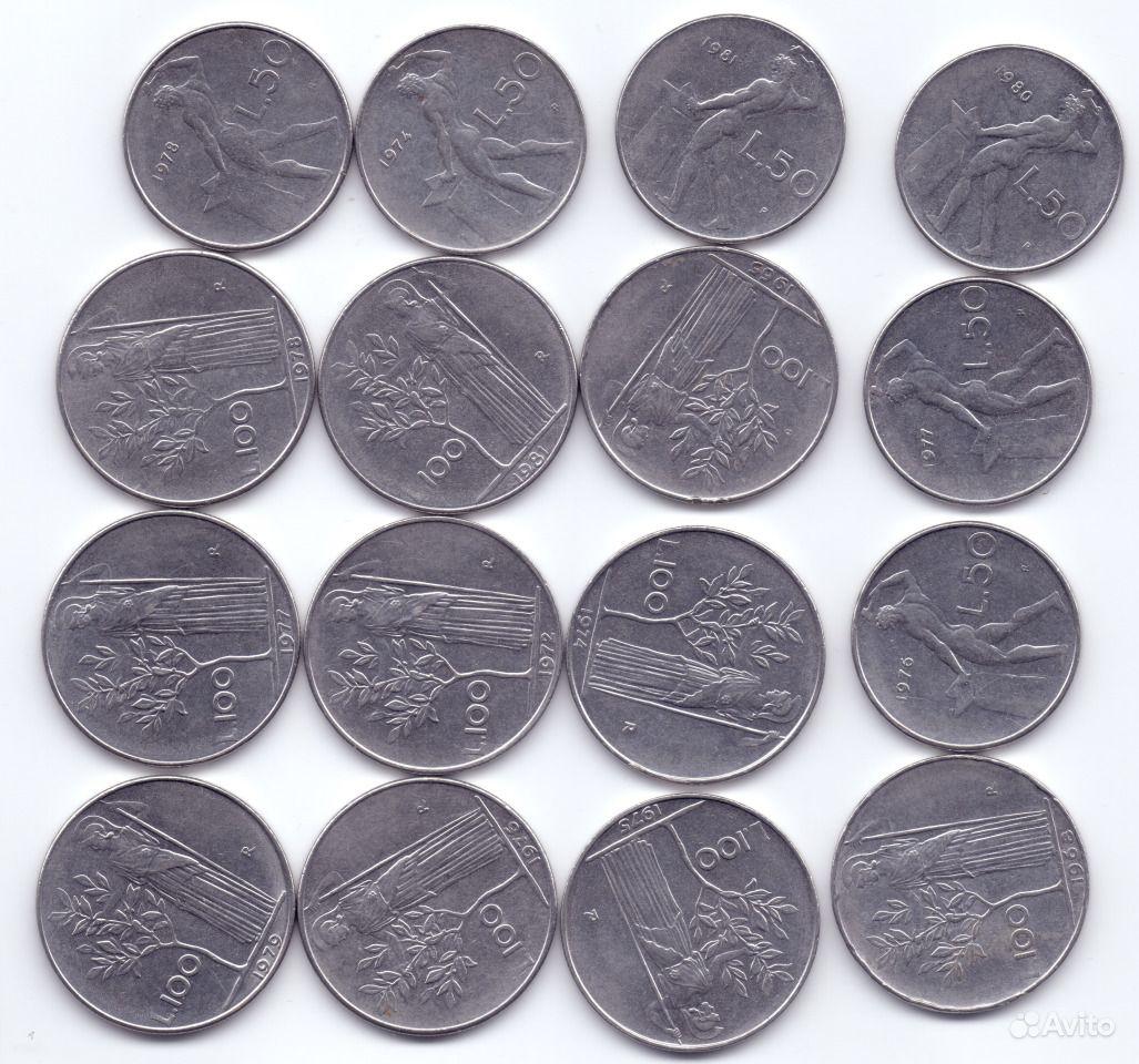 вид монеты италии фото выполнен ткани