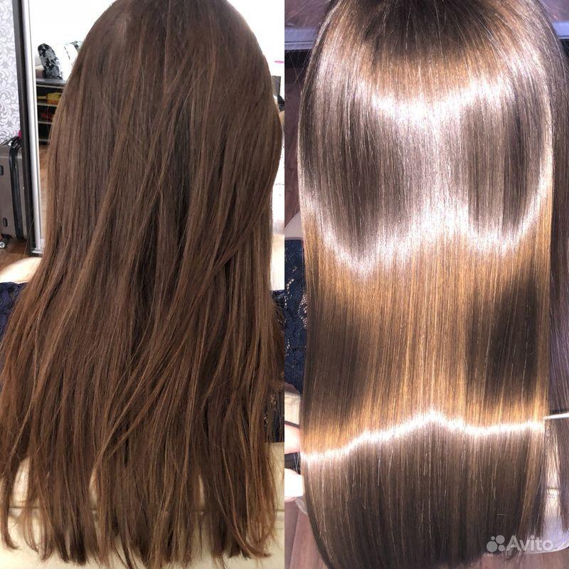 Наращивание волос купить на Вуёк.ру - фотография № 6