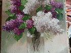 Картина цветы холт масло. 30на 40