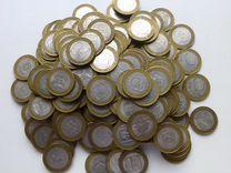 Биметалл 270 монет регионы из оборота (29 видов)