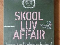 "Альбом BTS "" Skool Luv Affair "" с карточкой RM"