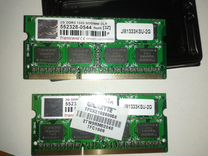 SO dimm Transcend JM1333KSU-2G DDR3 2GB