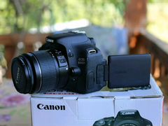 Canon EOS 600D Kit 18-55 is ll