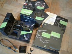 3Д Очки Nvidia Geforce 3D vision glasses комплект