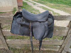 Седло кавалерийское