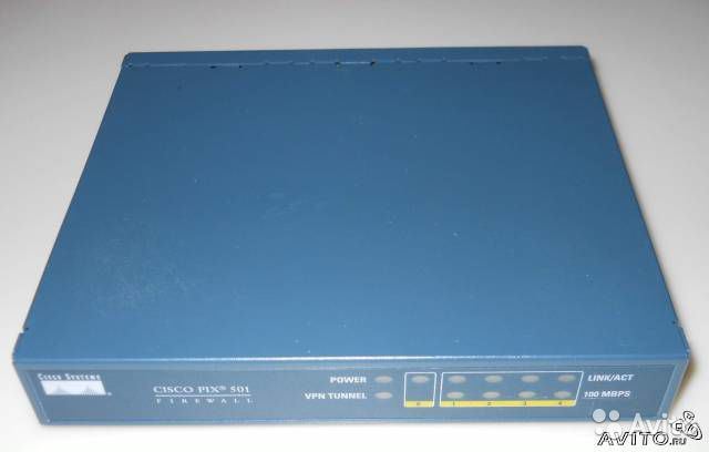 Cisco PIX 501 BUN K9— фотография №1