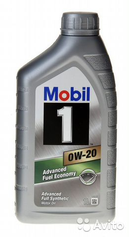 Mobil 1 Advanced Fuel Economy 0W-20, 1 литр— фотография №1
