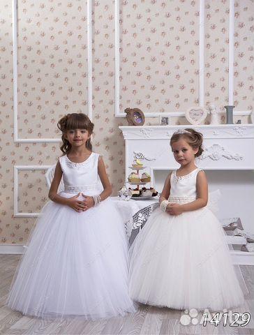 60218d54282 Новые нарядные детские платья в пол купить в Москве на Avito ...