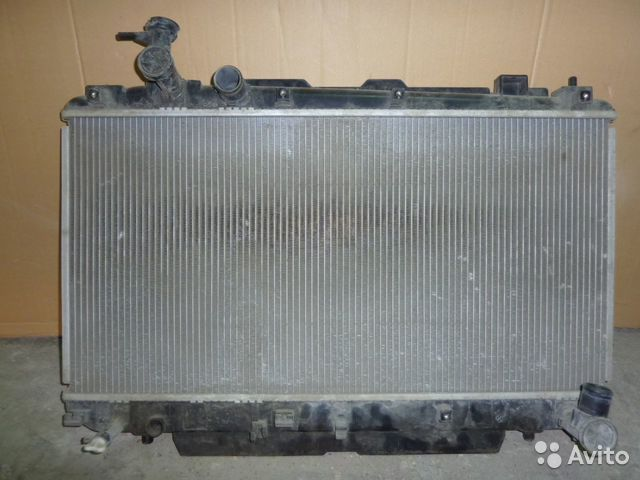 радиатор toyota rav4 2002