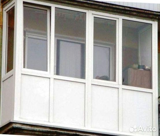 Балкон рама 3.2м 4-створчатая однокам. пвх купить в республи.