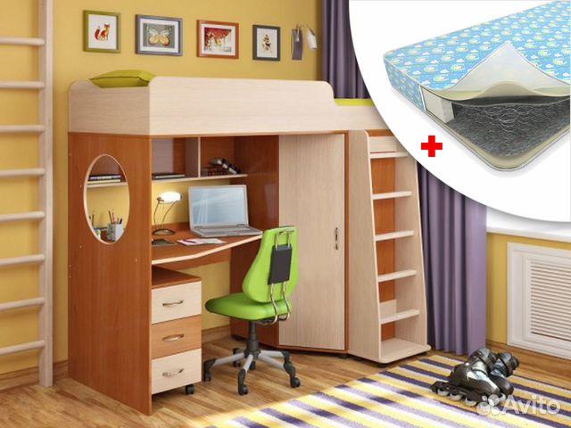 Кровать-чердак волгоград