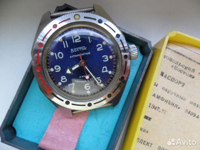 Сколько стоят часы амфибия