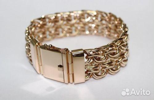 Золотой браслет цена в иркутске