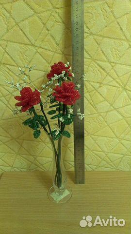 Цветы из бисерa