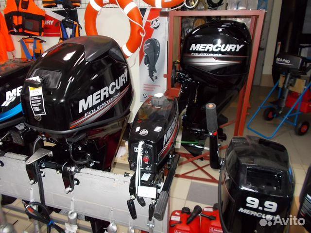 продажа новых лодочных моторов меркурий
