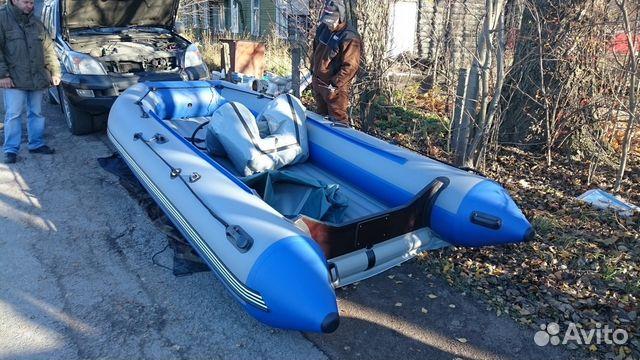 лодка салмон 380