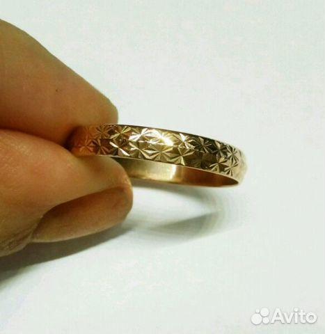 Новое золотое кольцо 21.5