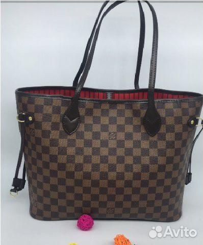 Сумка Louis Vuitton Neverfull Луи Витон MM LV купить в Москве на ... 182846d6063