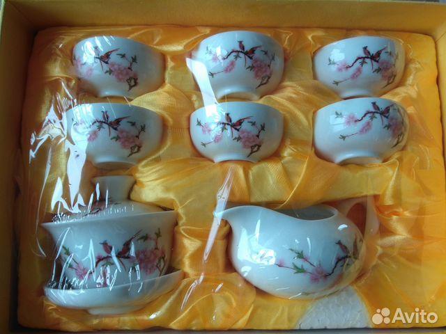 Сервиз чайный (фарфор) Птички 89044438391 купить 1