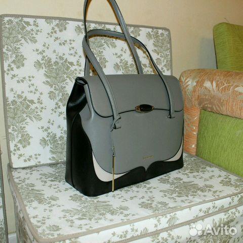 839aef3d Новая сумка оригинал Италия Cromia из натуральной купить в Москве на ...