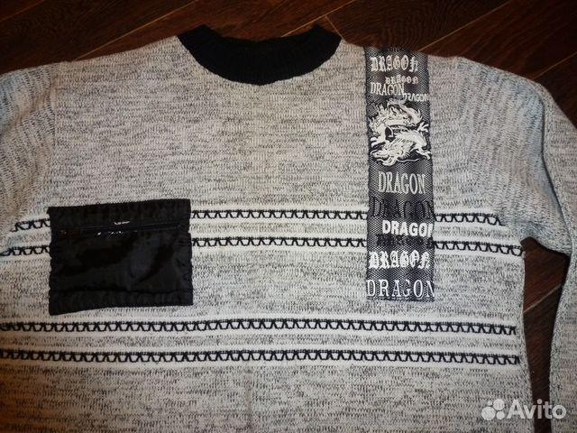 Теплый свитер размер 48 купить 2