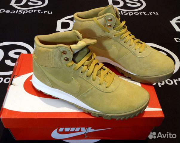 outlet store d4cc7 2395c Ботинки Nike hoodland suede коричневые 654888-727