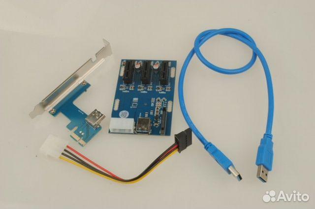 Splitter (splitter) for graphics cards (PCI-Express