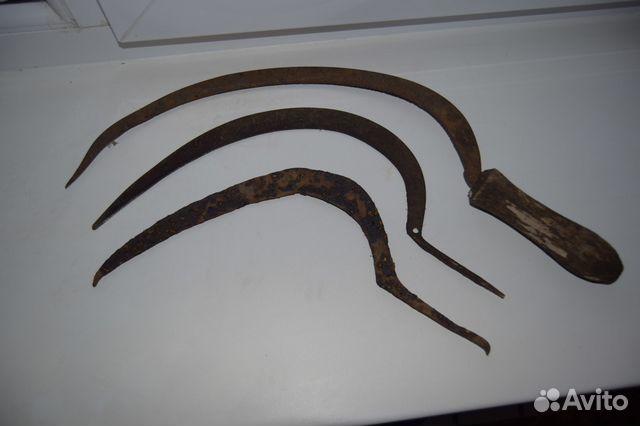 Старинные серпы