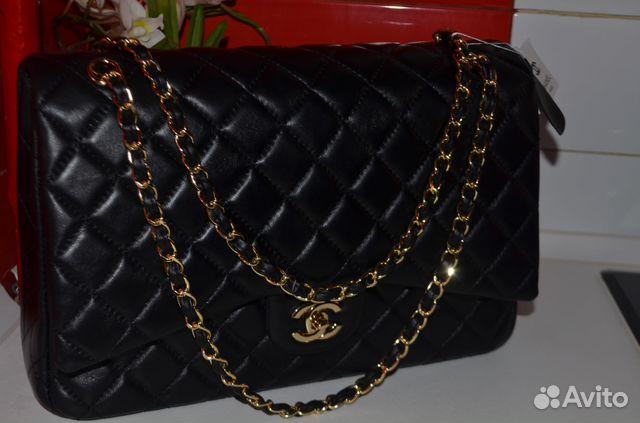 2d0ee350883b Сумки Chanel Jumbo 2.55 Flap Клатч Шанель Черная | Festima.Ru ...
