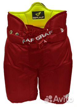 Трусы хоккейные детские jr Graf g15 red красные 84852595500 купить 1