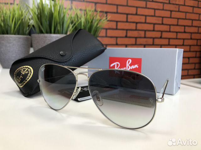 Солнцезащитные очки Ray Ban 3025 Aviator купить в Санкт-Петербурге ... 576fc2c47a292