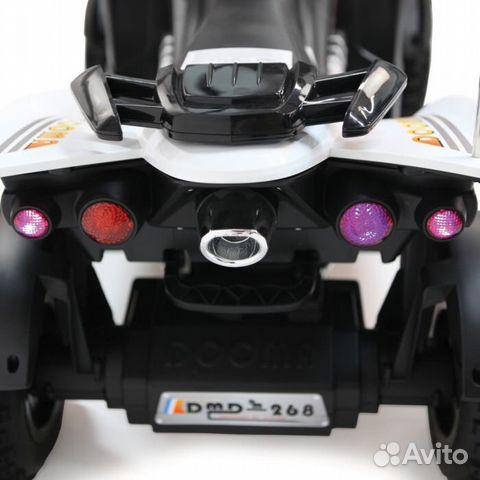 Электромобиль Квадроцикл Dooma White купить 3