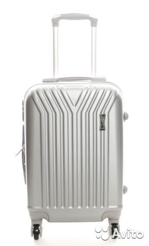 11032eb58d97 Пластиковый чемодан Top Travel Trident - grey (S) | Festima.Ru ...