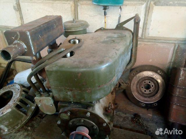 Самодельный кожух на двигатель уд 25 с маховиком и стартером от запорожца.