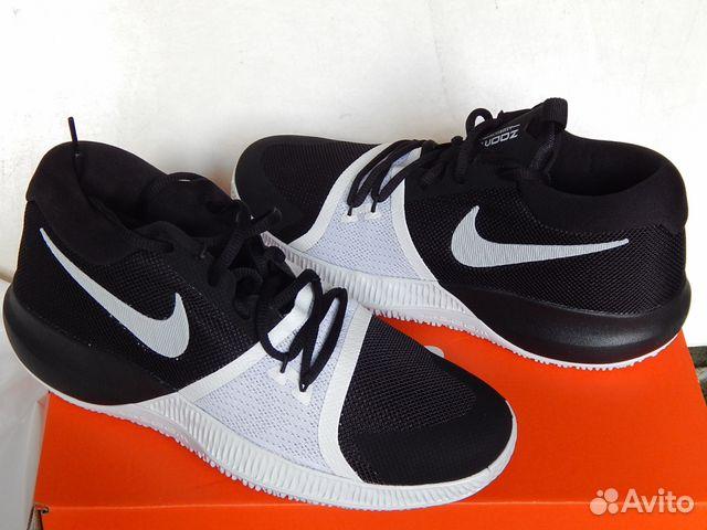 150a5827e54e Баскетбольные кроссовки Nike Zoom Assersion р.38— фотография №1