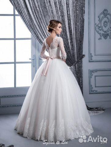 3065dbe44b4 Новое пышное свадебное платье