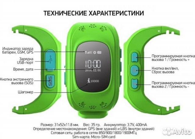 Умные часы smart baby watch q50 зеленый театр
