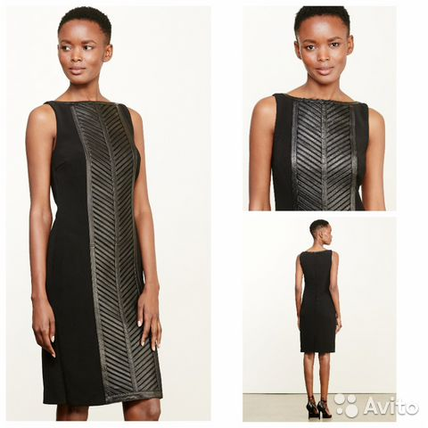 3e0b9befadd5679 Ralph Lauren платье футляр кожаное новое оригинал купить в Москве на ...