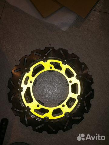 Новые тормозные диски на переднее колесо 2 шт 89787426110 купить 1